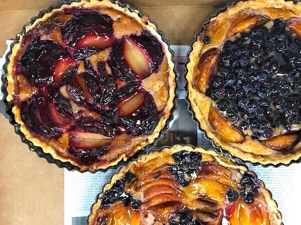 desserts fruit pies