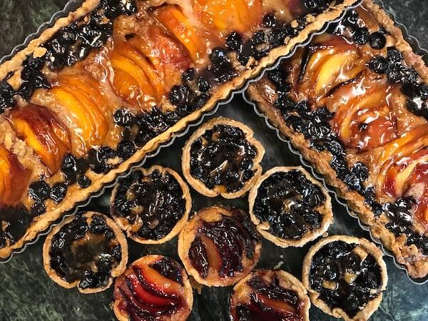 desserts fruit tarts