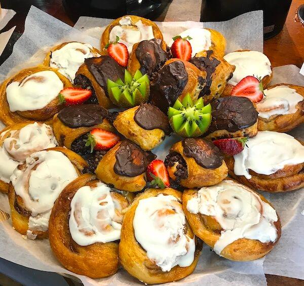 desserts pastries