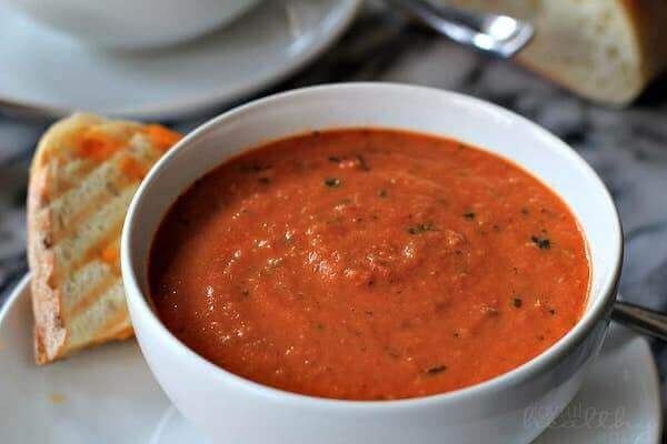 tomato basil bisque provincetown hot soup